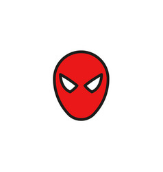 Comic superhero mask vector