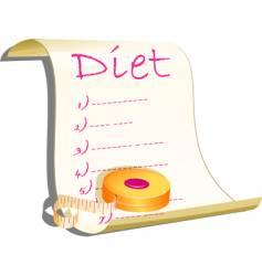 diet concept illustration vector image