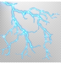 Electric lighting effect eps 10 vector