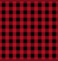 Red tablecloth pattern design vector