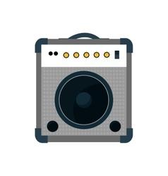 Speaker music sound dj icon graphic vector