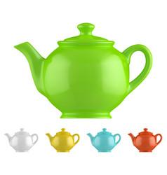 Teapot vector