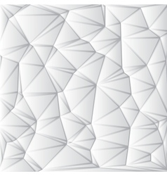 Abstract White Geometrical Background vector image vector image
