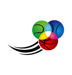 sport ball precision vector image
