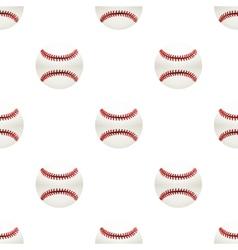 Universal baseball seamless patterns tiling vector image