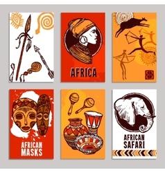 Africa Poster Set vector