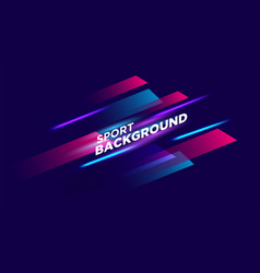 Bright abstract background with a dynamic waves vector