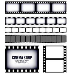 creative of old retro film vector image