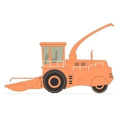 Forage Harvester vector