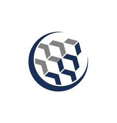 leadership concept logo design template vector image