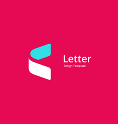 Letter c with arrow logo icon design template vector