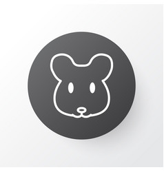 mouse icon symbol premium quality isolated rat vector image
