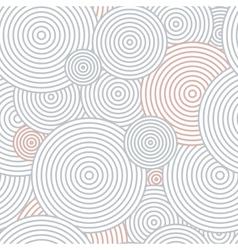Pattern circles vector