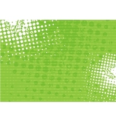 Tech grunge green binary system background vector