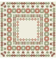 elegant border set 01 vector image