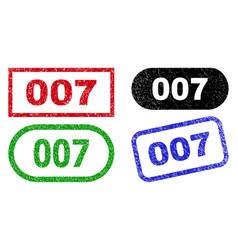 007 rectangle seals using distress surface vector