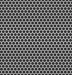 Chrome cell seamless background Design template vector image