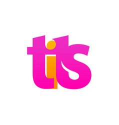 Logo of tits - pink emblem for store or web vector