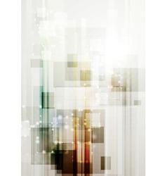 Modern hi-tech template vector image