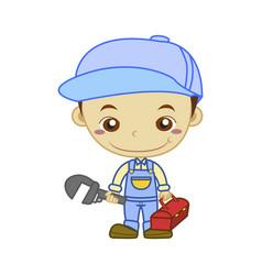 Plumber job vector