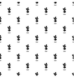 turnip pattern seamless vector image
