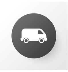 van icon symbol premium quality isolated lorry vector image