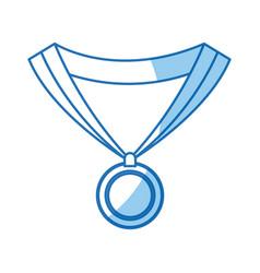 medal award winner sport design graphic vector image