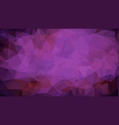 abstract multicolor dark purple geometric rumpled vector image