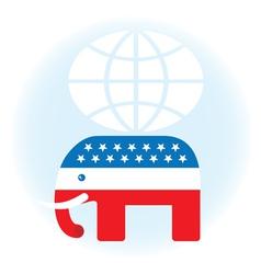 American republican symbol vector