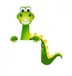 Cute dinosaurs vector