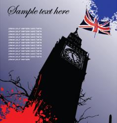 England image vector image