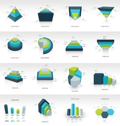 geometry infographic template vector image