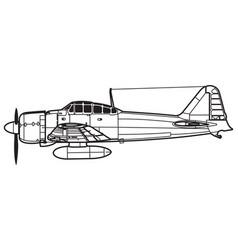 Mitsubishi a5m vector
