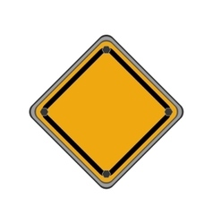 Road sign icon Under construction design vector