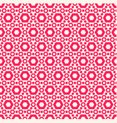 simple colorful geometric seamless pattern vector image