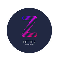 the letter x latin alphabet display vector image