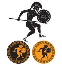 gladiator vector image