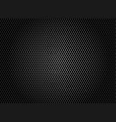 abstract carbon fiber texture on dark background vector image