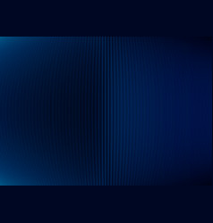 Abstract dark blue striped vertical lines curve vector