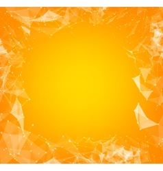Abstract polygons vector image