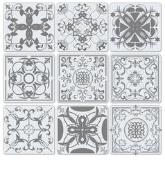 al 0816 tiles vector image