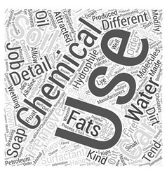 Chemicals used for Car Detailing Word Cloud vector