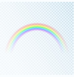 color rainbow spectrum light seven colors vector image