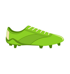 colorful cartoon soccer boots vector image
