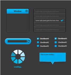 Elegant web design vector