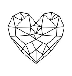 HEART SHAPE212 vector image