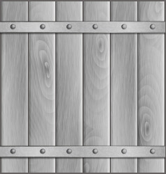 Wooden light background vector