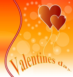 heart love shape red symbol day design valentine r vector image vector image