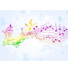 musical fantasy vector image vector image