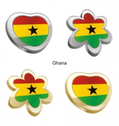 flag of Ghana vector image